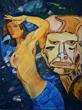 New Millenium Goddess by Impressionism Modern and Contemporary Art  By Gregory A Page