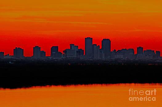 New Orleans City Sunset by Luana K Perez
