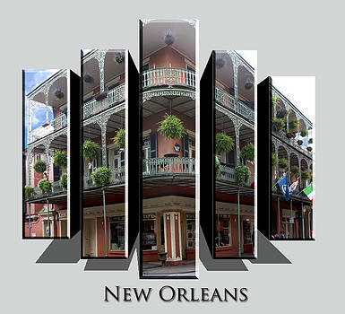 New Orleans Corner by Cecil Fuselier