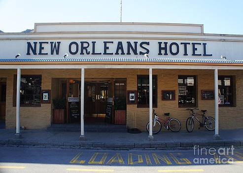 New Orleans Hotel by Therese Alcorn