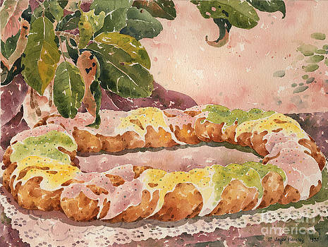 New Orleans King Cake by Joyce Hensley