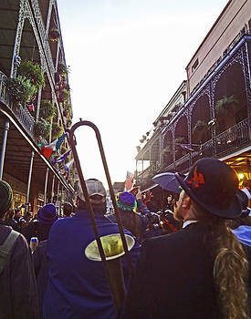 New Orleans Second Line by Louis Maistros