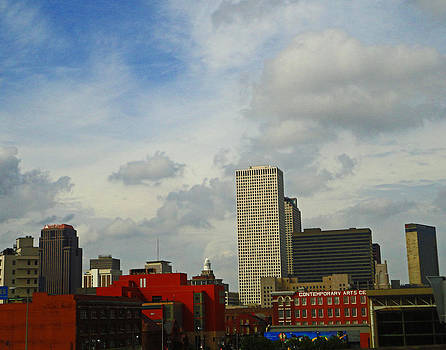 New Orleans Skyline by Louis Maistros