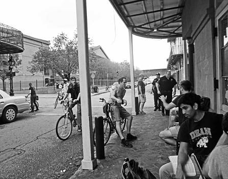 New Orleans Street Scene by Louis Maistros