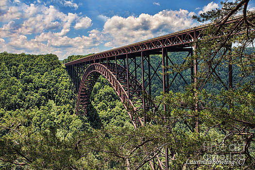 New River Gorge Bridge by Laurinda Bowling