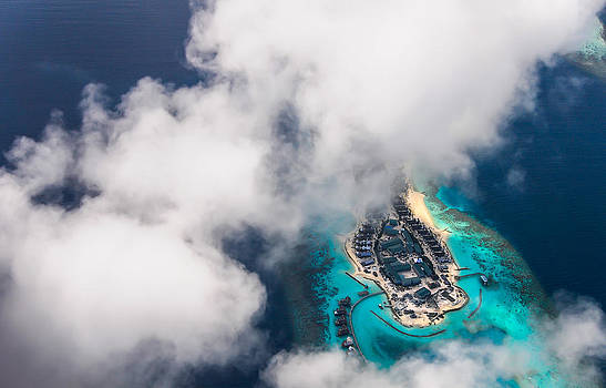 Jenny Rainbow - New Upcoming Resort 3.  Aerial Journey over Maldives