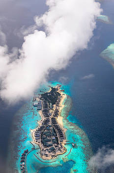 Jenny Rainbow - New Upcoming Resort 5.  Aerial Journey over Maldives