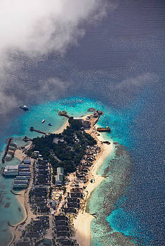 Jenny Rainbow - New Upcoming Resort 6.  Aerial Journey over Maldives