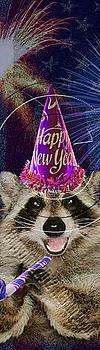 Jeanette K - New Year Raccoon # 523