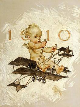 New Year's Baby by Joseph ChristiNew Year's Babyan Leyendecker