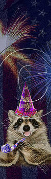 Jeanette K - New Years Raccoon # 524