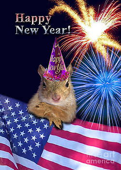 Jeanette K - New Years Squirrel