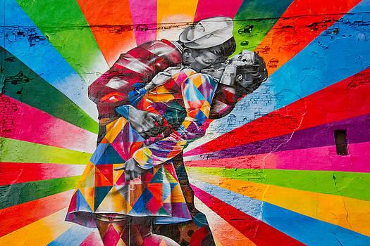 New York - High Line Graffiti by Amador Esquiu Marques