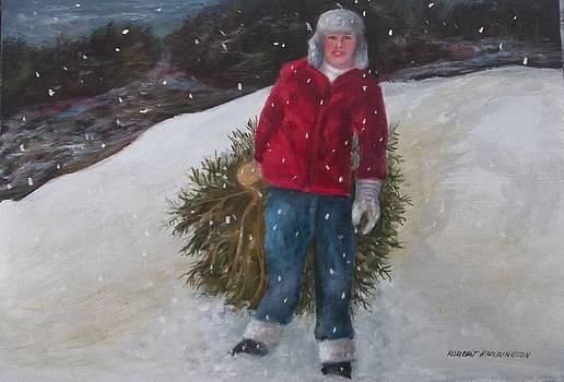 New York Christmas by Robert Harrington