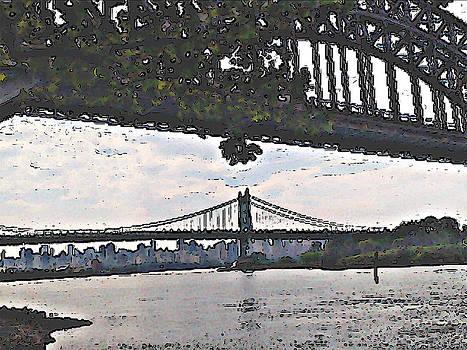 New York City Bridges by Ricardo  De Almeida