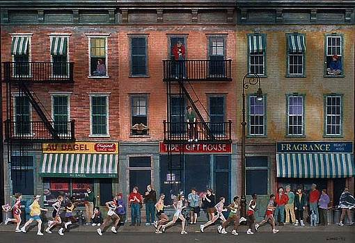 New York City Marathon by Hely Lima