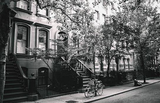 New York City - Summer - West Village Street by Vivienne Gucwa