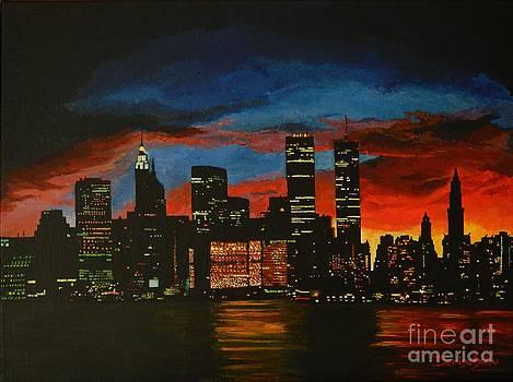 New York in Glory Days by Denisa Laura Doltu
