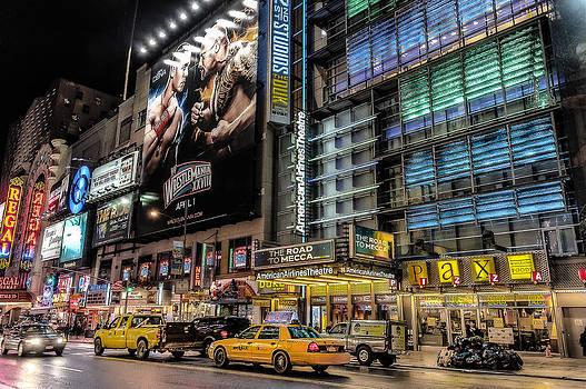New York. Lights. by Oleg Koryagin