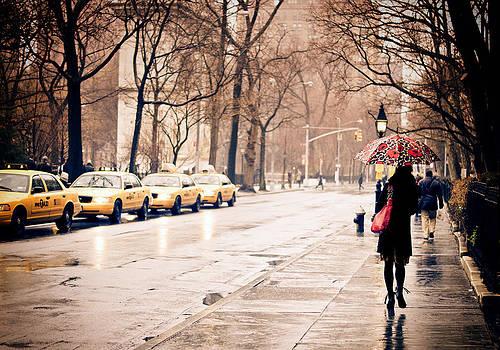 New York Rain - Greenwich Village by Vivienne Gucwa