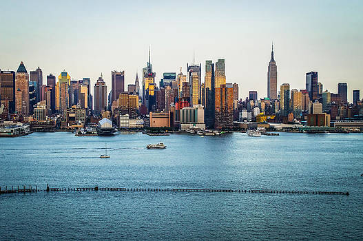New York Skyline Day 2014 by Andrew Kazmierski