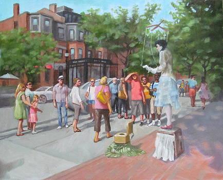 Newberry St. Boston by Janet McGrath