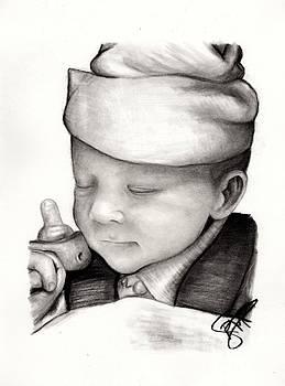 Newborn Baby by Rosalinda Markle