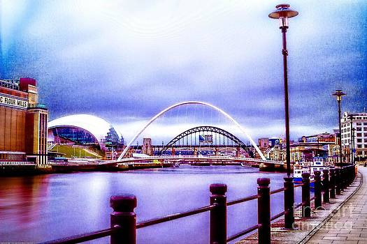 Newcastle Quayside by Andrew Allsopp
