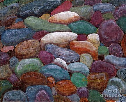 Barbara Griffin - Newfoundland Beach Rocks