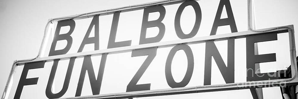 Paul Velgos - Newport Beach Balboa Fun Zone Sign Photo
