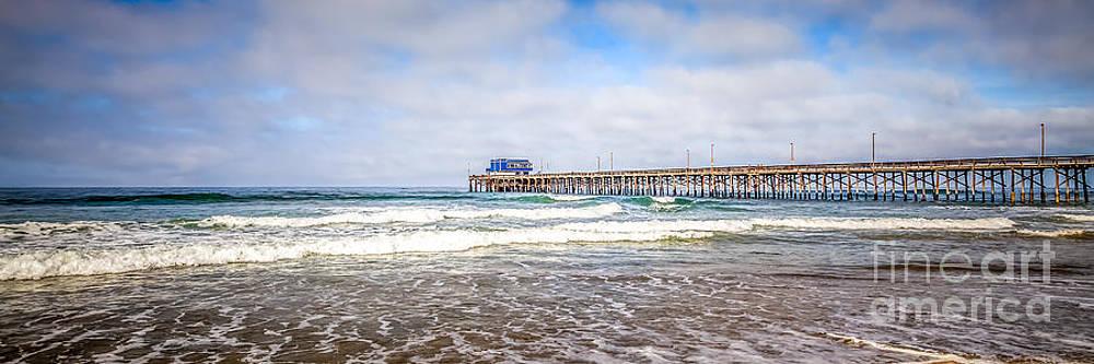 Paul Velgos - Newport Beach California Pier Panorama Photo