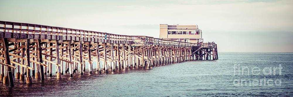 Paul Velgos - Newport Beach California Pier Vintage Panorama Picture