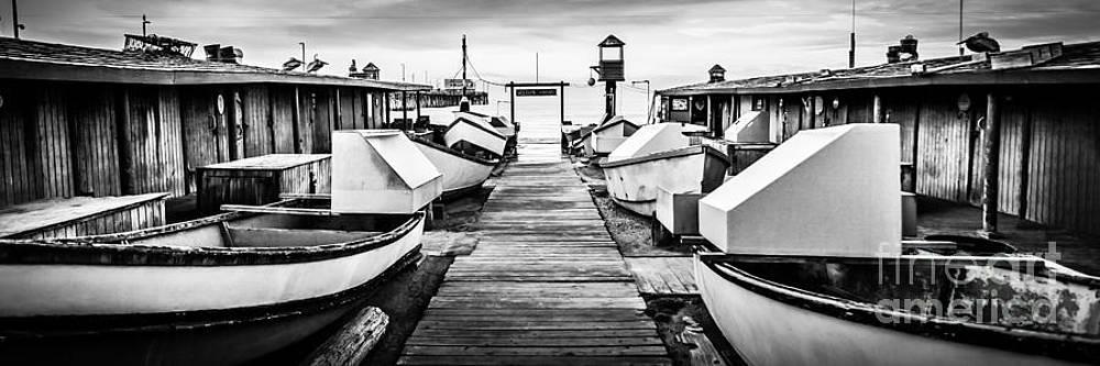 Paul Velgos - Newport Beach Dory Fishing Fleet Panorama Photo