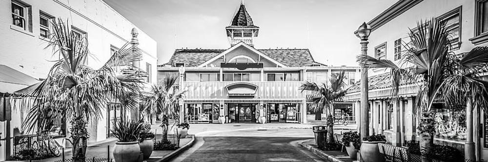 Paul Velgos - Newport Beach Panorama of Balboa Main Street