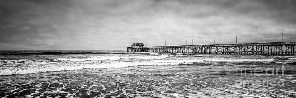 Paul Velgos - Newport Beach Pier California Panoramic Photo