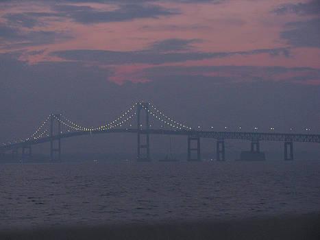Newport RI Bridge by Paul Thomas