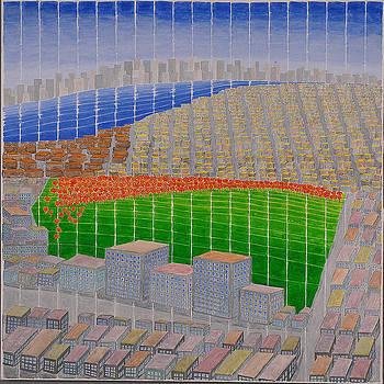 Ney York Cityscape by Jesse Jackson Brown