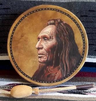Nez Perce Drum by Stu Braks