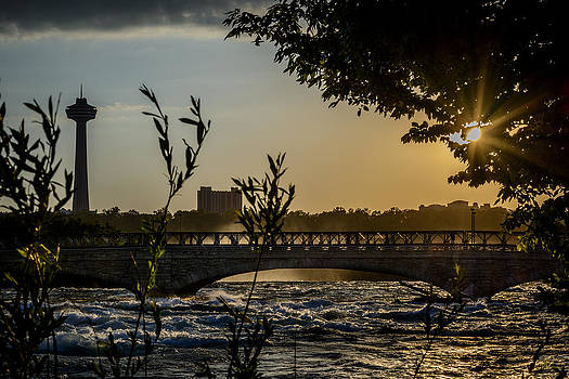 Niagara Dusk by Pat Scanlon