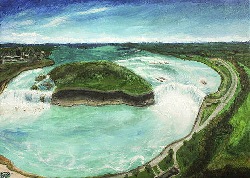 Niagara Falls by Victoria Volosnik