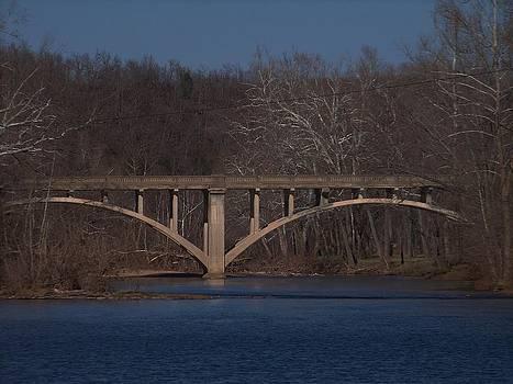 Niangua Bridge by Julie Grace