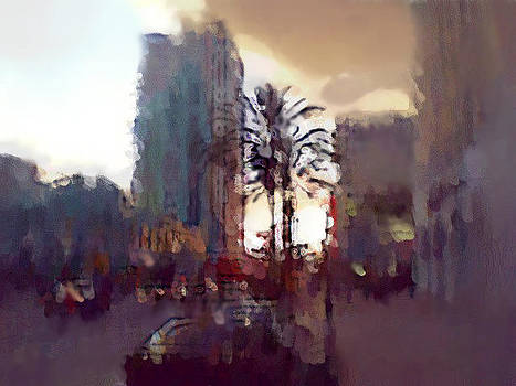 Nice Evening In Wilshire Blvd by Mehrdad Sedghi