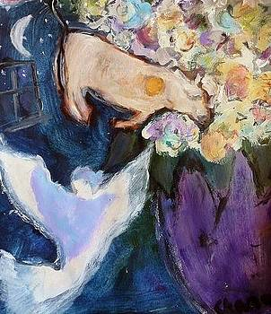 Night Blessing in a Vase by  Tolere