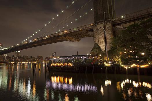 Night Bridge View by Boris Blyumberg