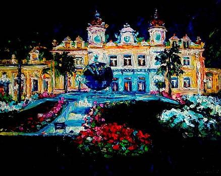 Night in Monte-Carlo by Olga Kurzanova