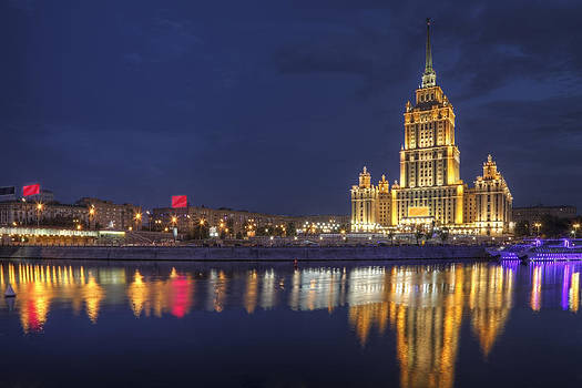 Night in Russia by Magomed Magomedagaev