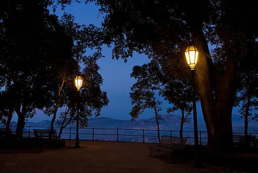 Night meeting by Marco Busoni
