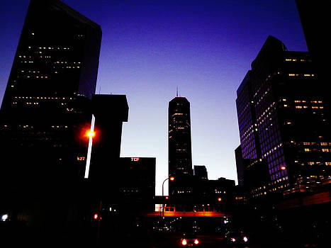 Night Of Minneapolis by Zinvolle Art