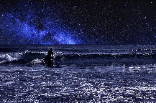 Night Surfer by Laura Fasulo