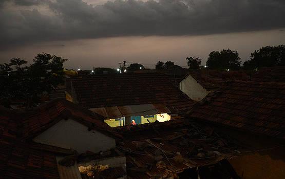 Night Talk by Mahendra Mithapara